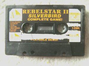 76581 Your Sinclair Rebelstar II Silverbird Cover Tape - Sinclair Spectrum 48K (