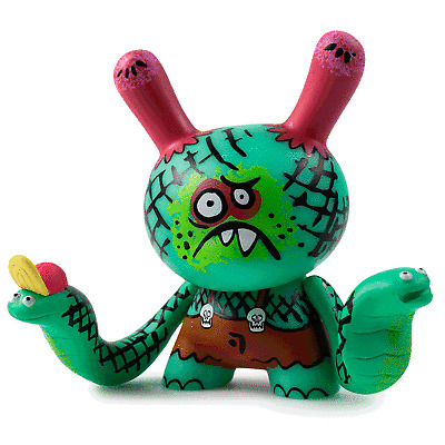 1 SEALED BOX CITY CRYPTID MULTI-ARTIST DUNNY ART FIGURE SERIES by KIDROBOT