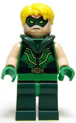 LEGO 76028 - Super Heroes  Justice League - Green Arrow w  Bow - Mini Figure