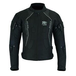 ARN-Black-Mens-Motorcycle-Waterproof-Cordura-Textile-Jacket-Motorbike-CE-Armour