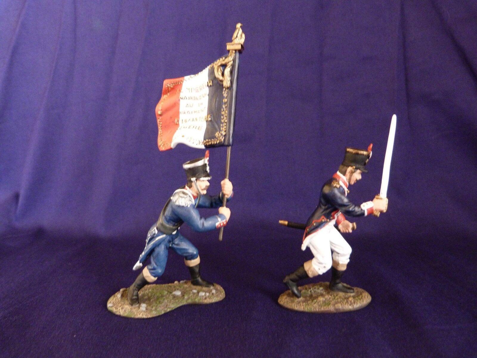 Soldats de plomb BRITAINS 00151 - Waterloo 1815 French Command Set - Français
