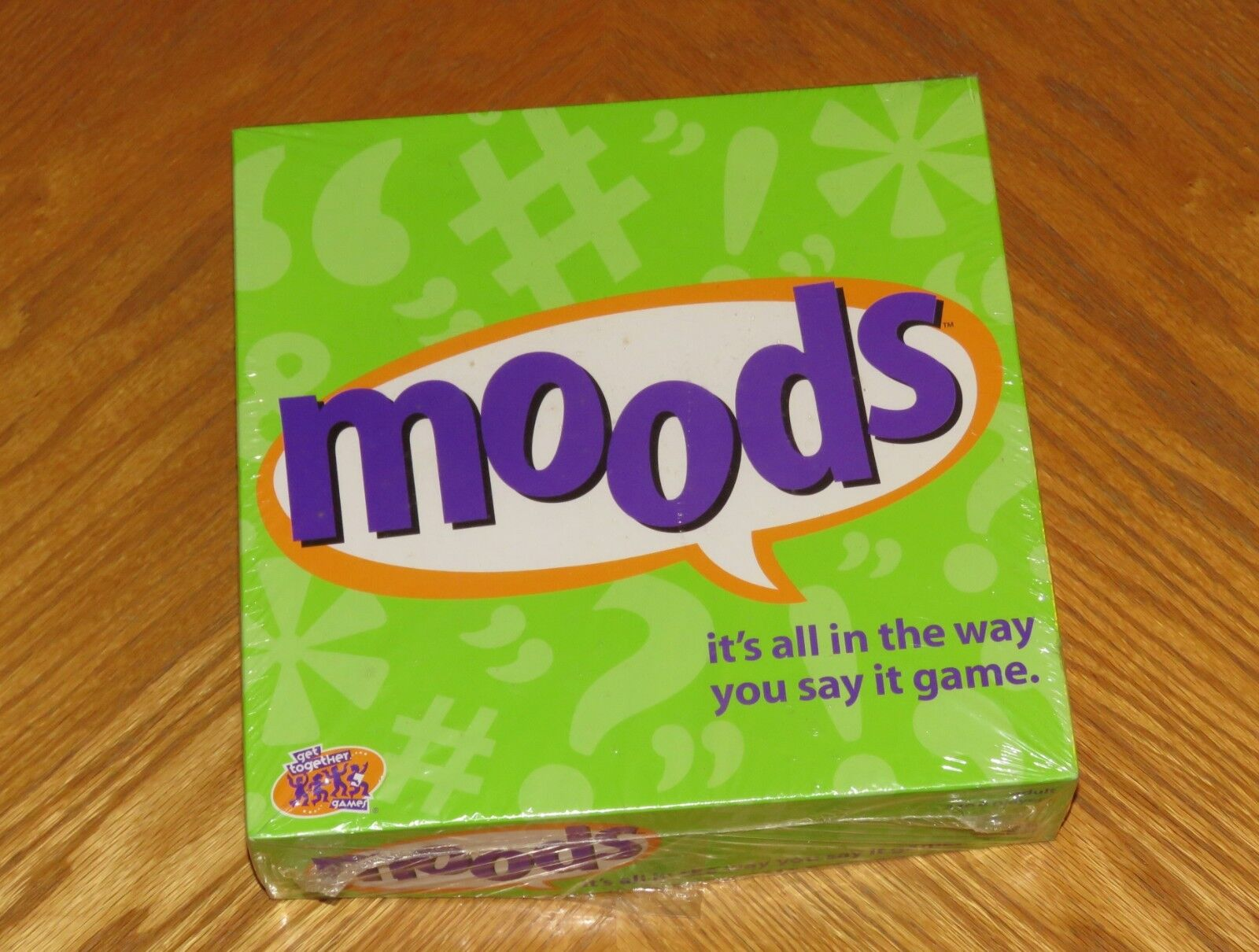 MOODS Board Game - Adult Party - 2000 Hasbro - Sealed