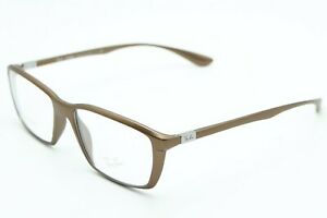 NEW-RAY-BAN-RB-7018-5205-BROWN-AUTHENTIC-EYEGLASSES-FRAME-RX-RB7018-54-16