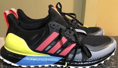 adidas ultra boost mens black size 12