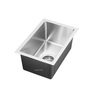 #304 Handmade Stainless Steel Kitchen Sink / Laundry Tub (45cm x 30cm x 21cm)