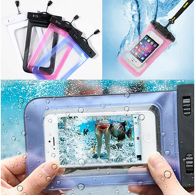 Waterproof Bag Underwater Pouch Dry Case Cover For Iphone 4/5S Samsung S2/S3