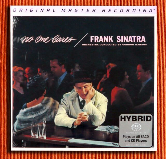 FRANK SINATRA - NO ONE CARES   MFSL Numbered Limited Hybrid Stereo SACD  SEALED