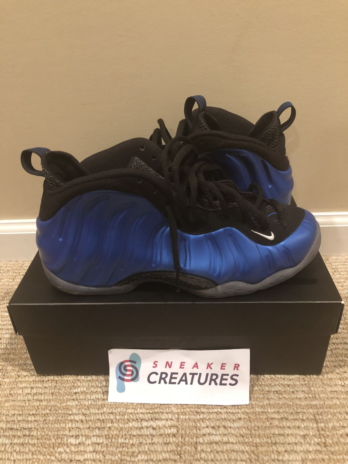 Royal One Foamposite 2017 895320 500 Size 10.5