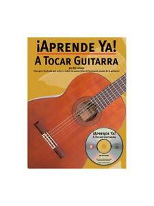 Aprende Ya! A Tocar Guitarra Learn To Play Guitar Sheet Music Book & Cd-afficher Le Titre D'origine Vysnwmxq-07160803-403145396