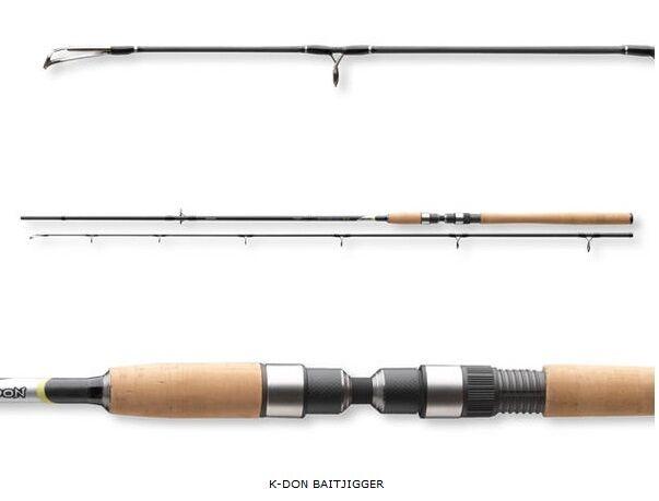 Cormoran Gummifischrute K-Don Baitjigger 270cm 40-100g Gummifischrute Cormoran Raubfischrute Jig Angeln 8b9f07