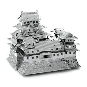 Fascinations-Metal-Earth-Himejijo-Himeji-Castle-3D-Laser-Cut-Steel-DIY-Model-Kit