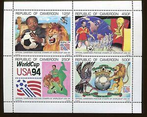 CAMEROUN Souvenir Sheet #893a MNH - WORLD CUP - FB37