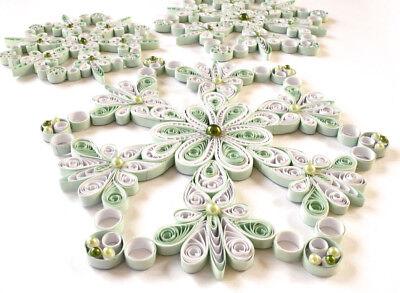 Crimper und Kamm 3 mm Tisch Bastelset f/ür Quilling Kunst f/ür Filigrane Bastelarbeiten Paper Width: 3 mm Form Set bestehend aus 960 Papier-Streifen