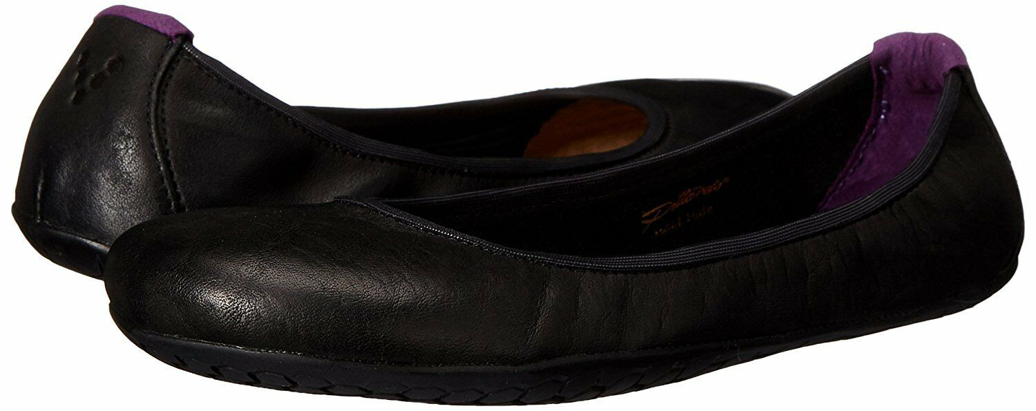 Vivobarefoot Women's Jing Jing Leather - Black Hide - 35