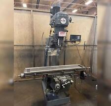 Republic Lagun Vertical Knee Mill Model Ftv 2 50 X 10 T Slotted Table 5hp