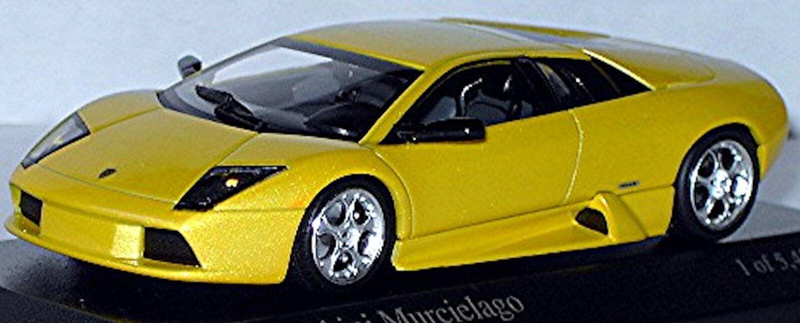 Lamborghini Murcielago Coupé 2004 jaune Orion Jaune Métallique 1 43 Minichamps