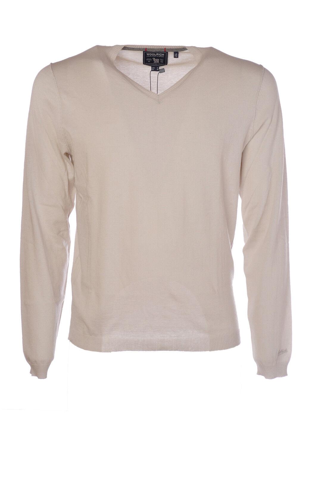 Woolrich  -  Sweaters - Male - Weiß - 1976131N173653