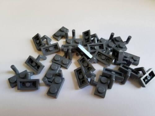 Lego Dark Stone Grey Plate Mod 1x2 Part 88072 Element 4611703 Qty:25 New