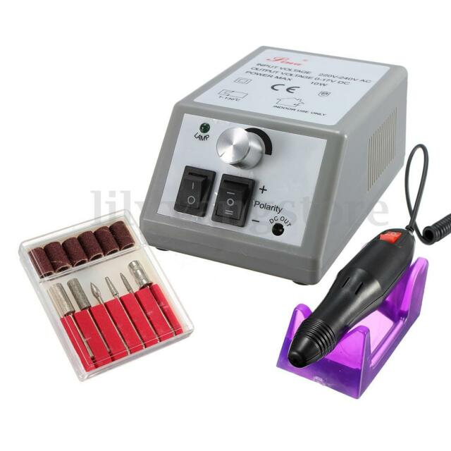 Professional Electric Drill File Nail Art Pen Machine Set Kit Manicure Pedicure