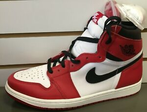 huge discount 00eb4 17a9c Details about Nike Air Jordan 1 Chicago 2015 free shipping
