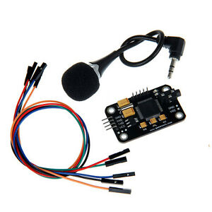 Voice Recognition Module for Arduino + Microphone