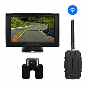 auto vox m1w wireless backup camera kit super night vision with 6 leds rear view 889284637610 ebay. Black Bedroom Furniture Sets. Home Design Ideas