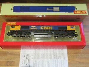 DCC SOUND Hornby R2652TTS Class 66 66702 GBRf Blue Lightning OO Gauge *