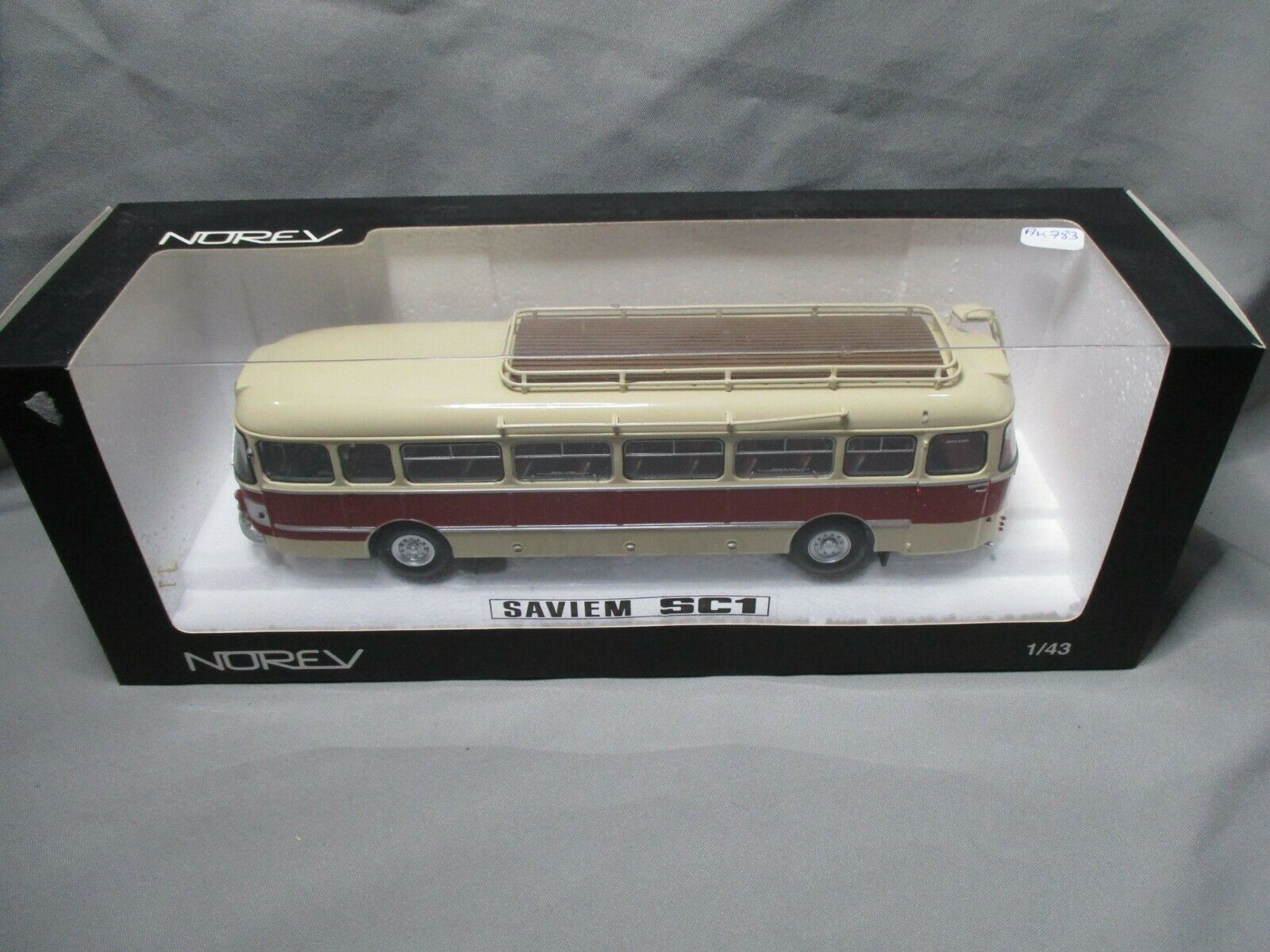 Ak783 norev 1 43 autobus saviem sc1 ref 521009 good condition