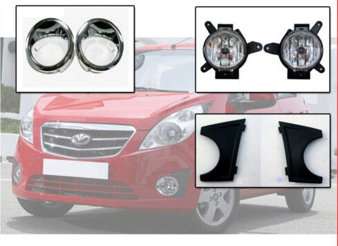 Fog Light Lamp Assy /& Cover 6P For 10 11 Chevy Spark