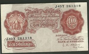 Image Is Loading Bank Of England Currency Note 10 Shillings Great