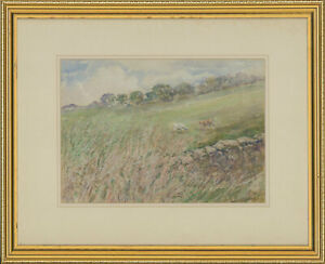 Henry-E-Foster-1921-2010-Signed-1979-Watercolour-Littledale-Caton-Lancs