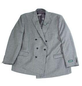 Lauren by Ralph Lauren Mens Sport Coat Brown Gray Size 50 Ultra-Flex $375 164