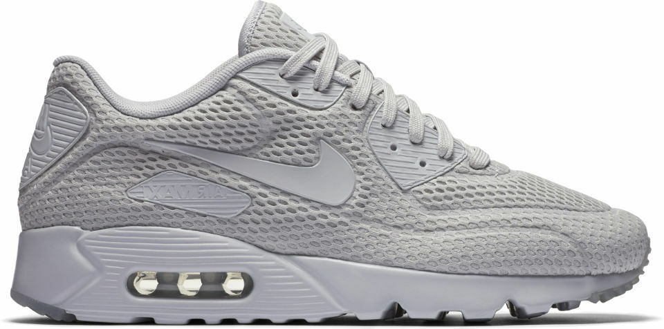 nike air max 90 ultra - br hommes taille 12 chaussures hommes br 725222 012 platine 591802