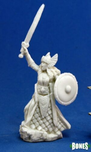 77052 Reaper Miniatures Ossa AINA donna Valkyrie