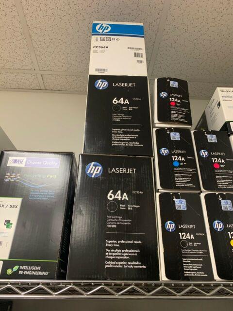 NEW HP CC364A 64A Toner Cartridge P4015 GENUINE!
