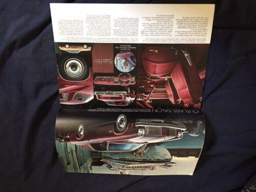 1975 Oldsmobile Cutlass Supreme 442 Delta 88 98 Toronado Brochure  Prospekt