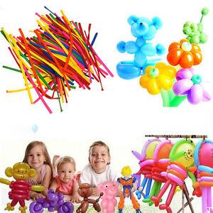200pcs-Mix-color-Wedding-Birthday-Party-Decoration-Magic-Latex-Long-Ballons-ST