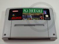 Nintendo SNES Game PGA Tour Golf, USED BUT GOOD