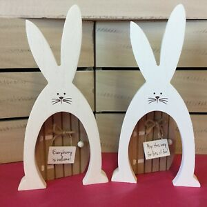 Easter bunny door block decoration easter rabbit childrens gift image is loading easter bunny door block decoration easter rabbit childrens negle Image collections