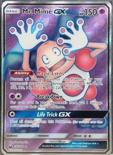 Mime GX Full Art NM Celestial Storm 156//168 Pokemon TCG Mr