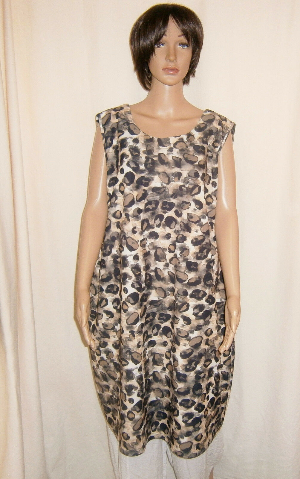 Ophilia  elegantes Kleid   Lange-Tunika trendige Farben Gr. 5 (50 - 52) %%%
