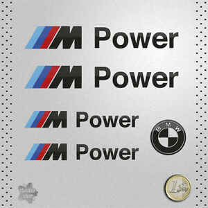 sticker bmw power motorsport serie m m3 m5 decal. Black Bedroom Furniture Sets. Home Design Ideas
