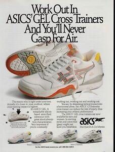 1990 ASICS Gel Cross Trainers shoes