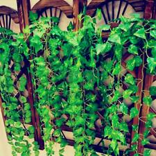 6.56ft Artificial Ivy Leaf Garland Plants Vine Foliage Flower Home Garden Decor