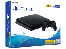 SONY PLAYSTATION 4 SLIM 500 GB JET BLACK WI-FI