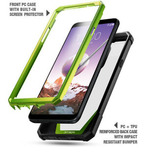 new concept 143b8 8159a Details about For LG Stylo 4 Bumper Shockproof Case Cover | 360 Degree  Protetive Green
