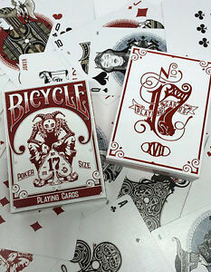 N°17 Bicycle Branded and Unbranded Playing Cards 2 Decks Set - Italia - N°17 Bicycle Branded and Unbranded Playing Cards 2 Decks Set - Italia