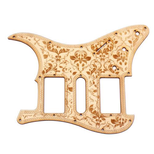 Ahorn HSH Guitar Pickguard Scratch Plate für Stratocaster ST E Gitarre