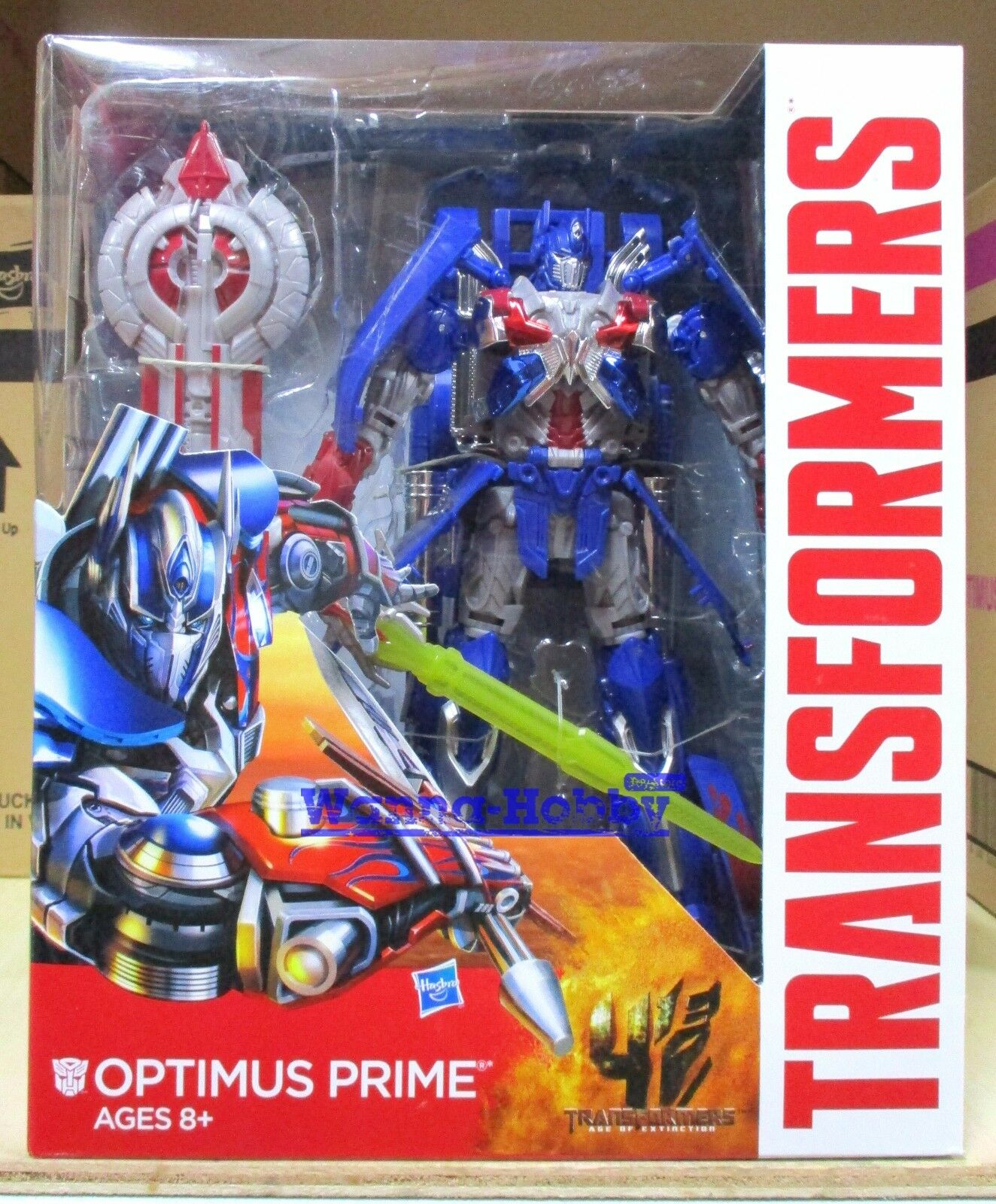 W。H』MISB15010 Transformers Movie4Age of Extinction AOE OPTIMUS PRIME LeaderClass