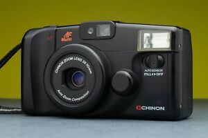 Chinon-Auto-4001-Fully-Automatic-Compact-Point-and-Shoot-camera-Lomography-Japan